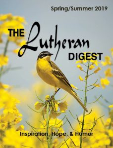 Spring Summer 2019 Lutheran Digest Cover